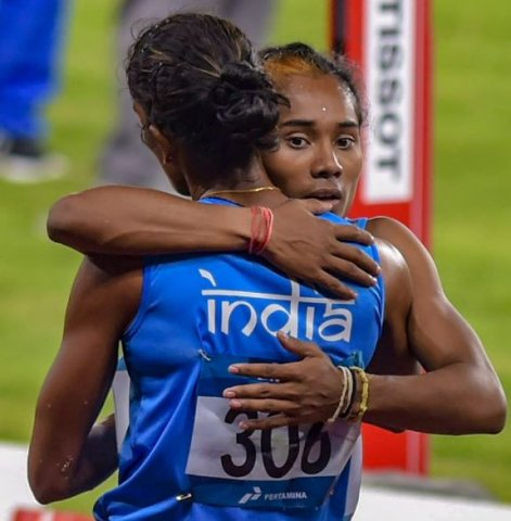 4x400 Relay Race Asian Games 2018