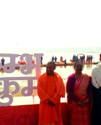 Ram Nath Kovind visit Kumbh 2019 Hindi